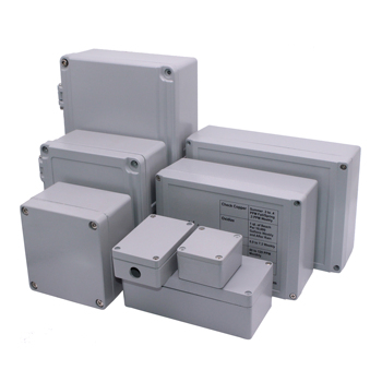 IP67 waterproof junction box/weatherproof die cast metal enclosure