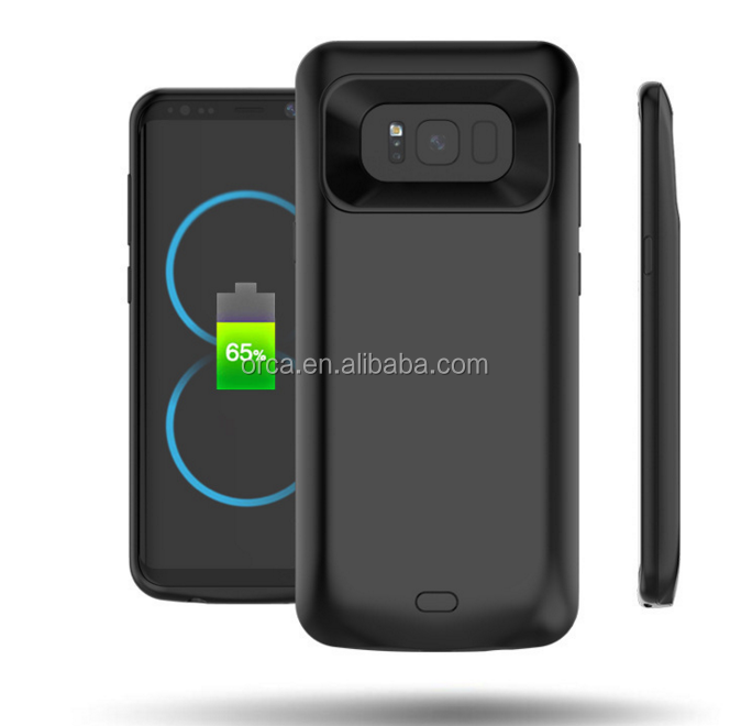 CE FCC Battery Case For Samsung Galaxy Note 8 Full Cover Power Bank Case