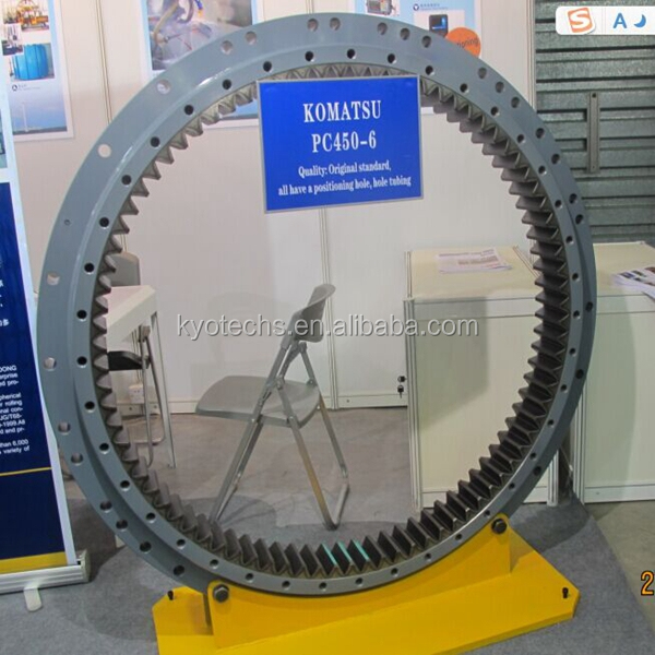 EXCAVATOR SWING CIRCLE ASS'Y FOR 208-25-61200 208-25-61100 PC450-6