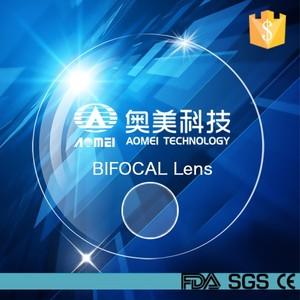 d82c75743b7f 1.56 round top bifocal optical lens HMC AR coating resin lens