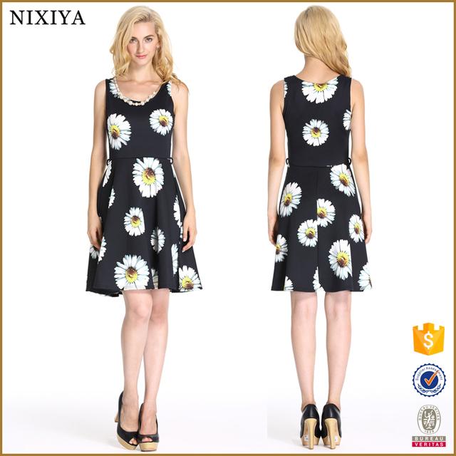 Buy cheap china pretty flower dress products find china pretty 2016 ladies new summer designs fashion pretty flowers printed short dress mightylinksfo