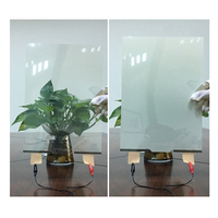smart window glass tinted switchable self adhesive pdlc film