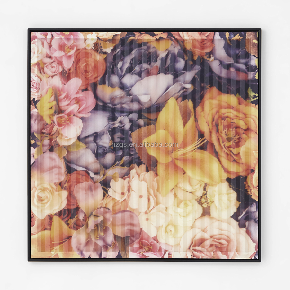 Flower Designs Fabric Wall Hanging Painting Flower Designs Fabric