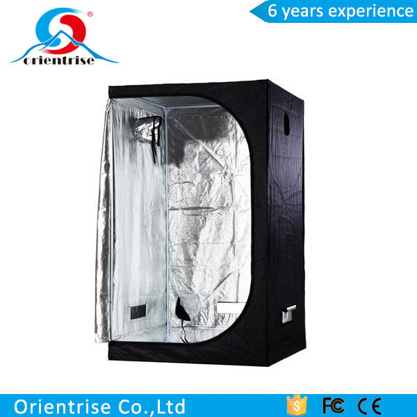 "30"" x 18"" x 36"" 100% Reflective Mylar Hydroponic Grow Tent with Window, Great for Indoor Planting and Early Seedling Starters"