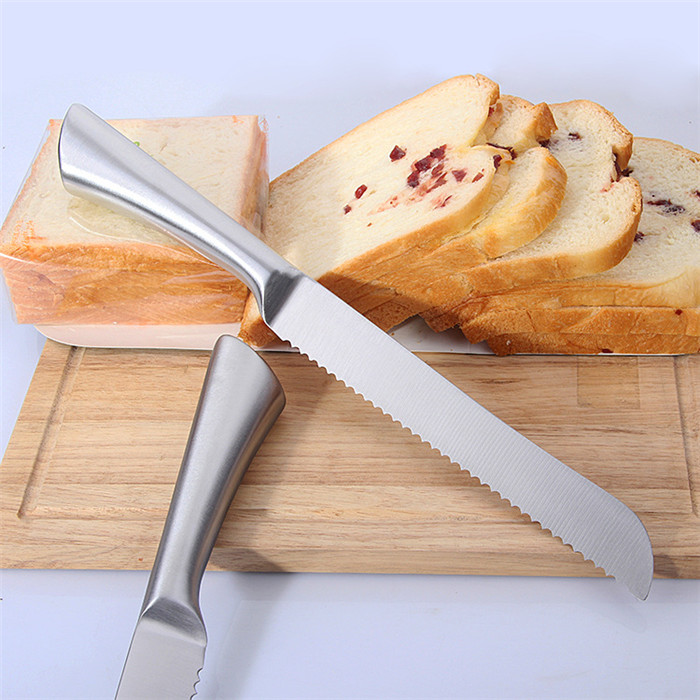 2018 Amazon top seller high quality 8 inch stainless steel bread knife