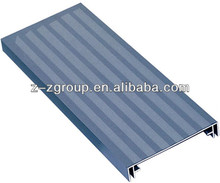 Aluminum extrusion profile for light box