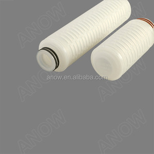 Safety and Hot Sale Cheap PES Bacterial Pleated Cartridge Filter For Sterile Filtration in Wine and Juice