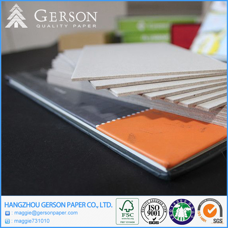 Laminated Grey Cardboard 3MM Thick Chip Board Paper In Sheets