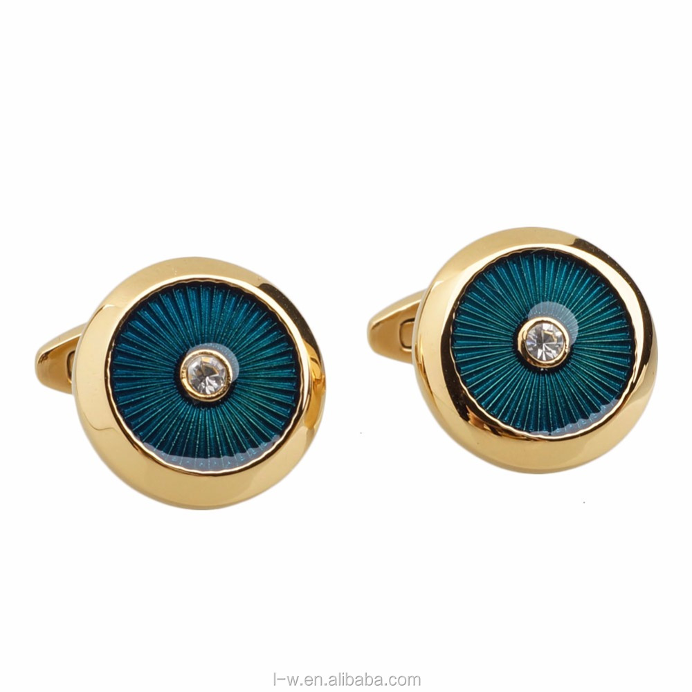 2018 Hot Trending Products New Style Metal Button Cufflinks