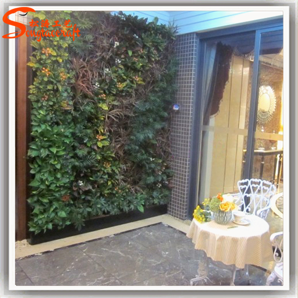 Kunststoff gras dekor vertikalen garten grüne wand system ...