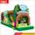 Wholesale obstacle course jumping castles inflatable bouncing trampoline for sale