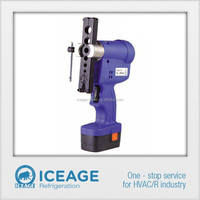 CT-E806 cordless electric flaring tool with high capacity charging battery