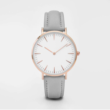 Rose Gold Custom LOGO Women's Minimalist Watch 38mm Diameter7mm Thick