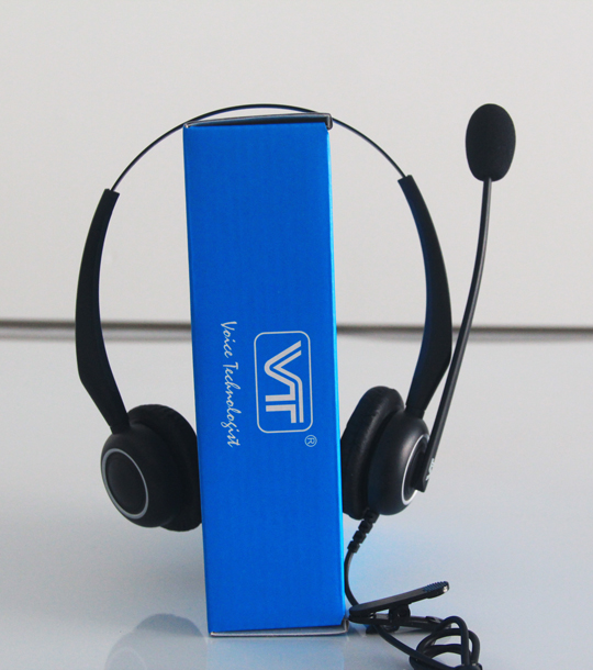 ECM Microphone office wired headset for Yealink Avaya Snom IP Phone