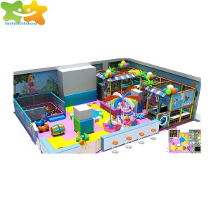 Maze game indoor jungle gyms for kids playground indoor maze play in guangzhou