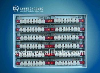 Dental Lab Products,Lab Use Type Denture Artificial Acrylic Teeth ...