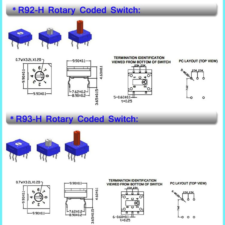 r9316r6h dmx dip through 16 pos 12v rotary switch buy r9316r6h r9316r6h dmx dip through 16 pos 12v rotary switch