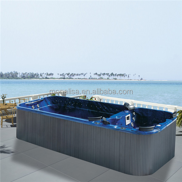 Hot Sale Endless Pool Used Fiberglass Pools Hydrotherapy Swimming Pool M 3326 Buy Used