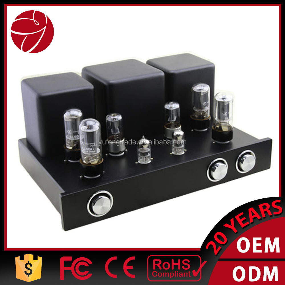 6l6 tube amplifier for home vacuum tube amplifier class PP-66b