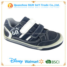 New design buckle strap style canvas upper kid stylish casual shoes