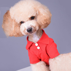 Low MOQ Cheap Classical Summer High Quality Polo Blank Pet Clothes Dog Shirt