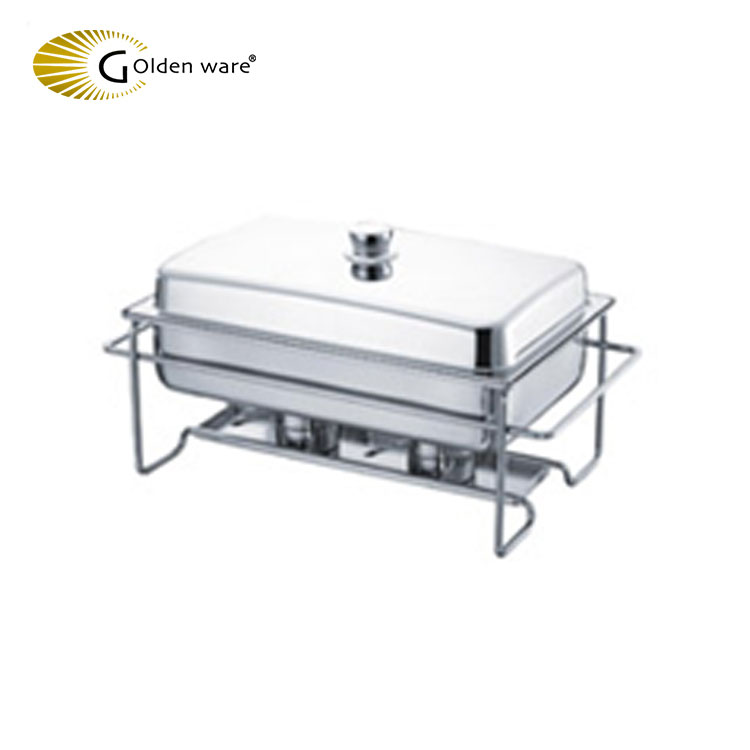 Golden Ware Restaurant & Hotel Supplies Wholesale economy stainless steel chafing chafer dish