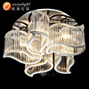 hotel ceiling chandelier contemporary chrome chandeliers Om7720
