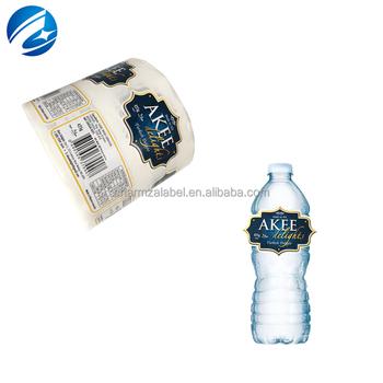 China Custom Plastic Bottle Self Adhesive Waterproof Seal Sticker Labels  Printing - Buy Plastic Seal Sticker,Plastic Sticker,Plastic Bottle Label
