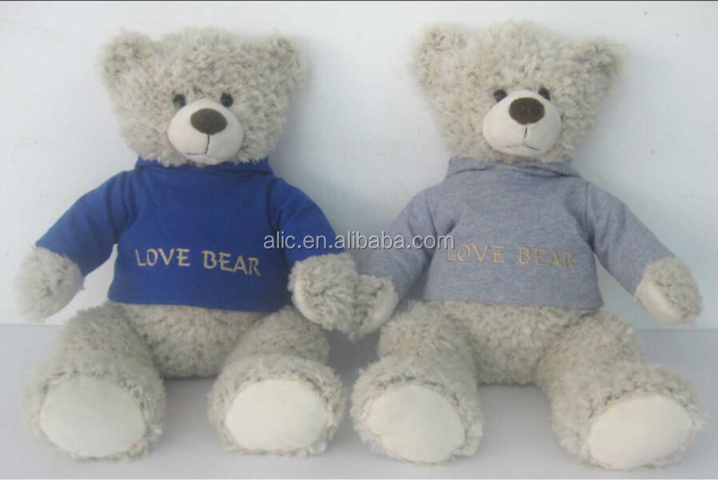 2014 hot sell stuffed bear toys ICTI audited factory Disney approved love bear love life