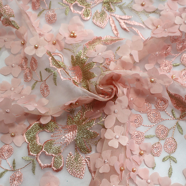 Wholesale wedding lace fabric African net lace fabric