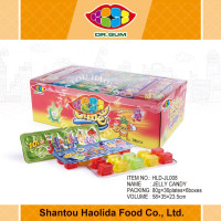 Colorful Jelly Cup with mix fruit flavours