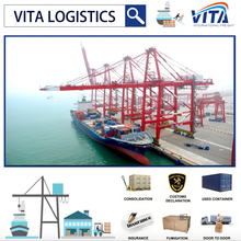 Sea shipping ocean logistic services from China to Rotterdam Netherlands