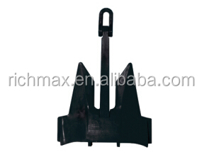 Black Painted AC-14 HHP Anchor
