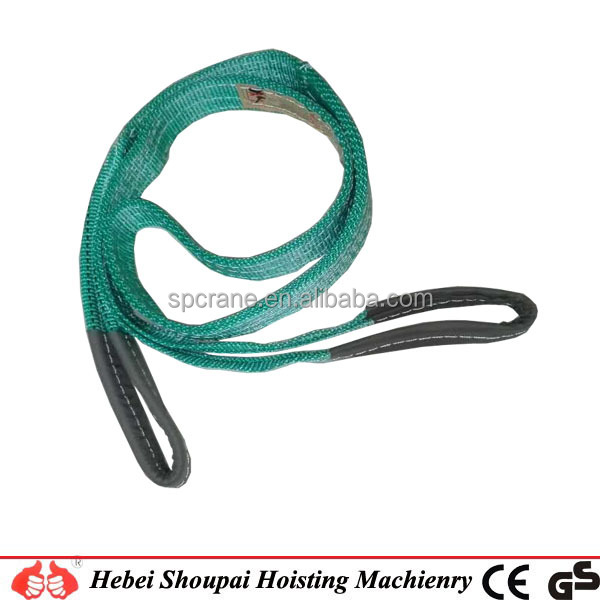 good quality Lifting Polyester Webbing slings from 1 Ton to 10 Ton Acc. to EN1492-1 from China manufacturer