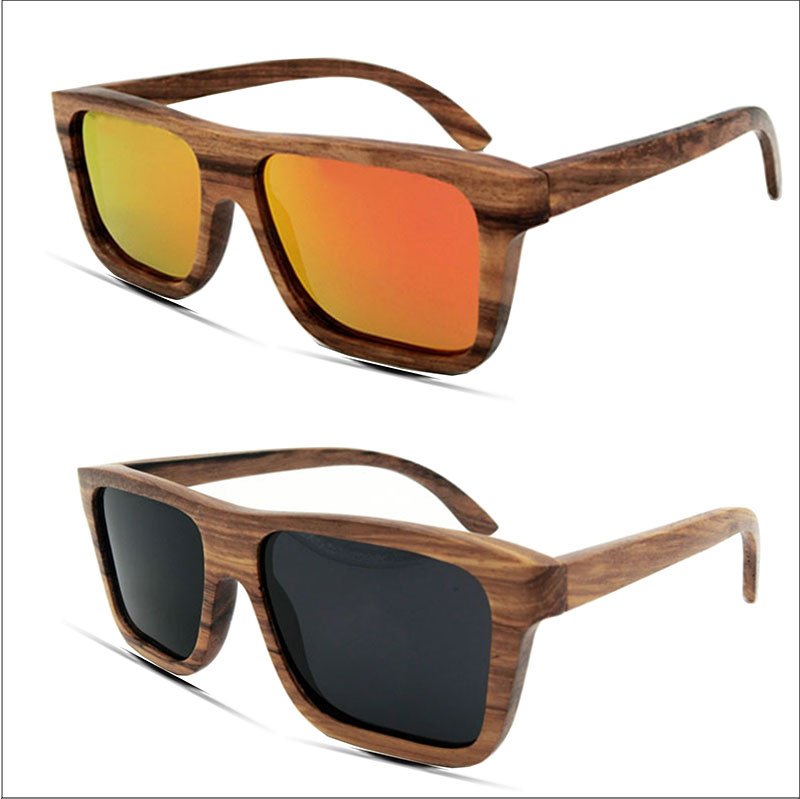 ea31c5a82733 Party wood frame glasses rainbow hand zebra wood sunglasses jpg 800x799  Wooden frame sunglasses