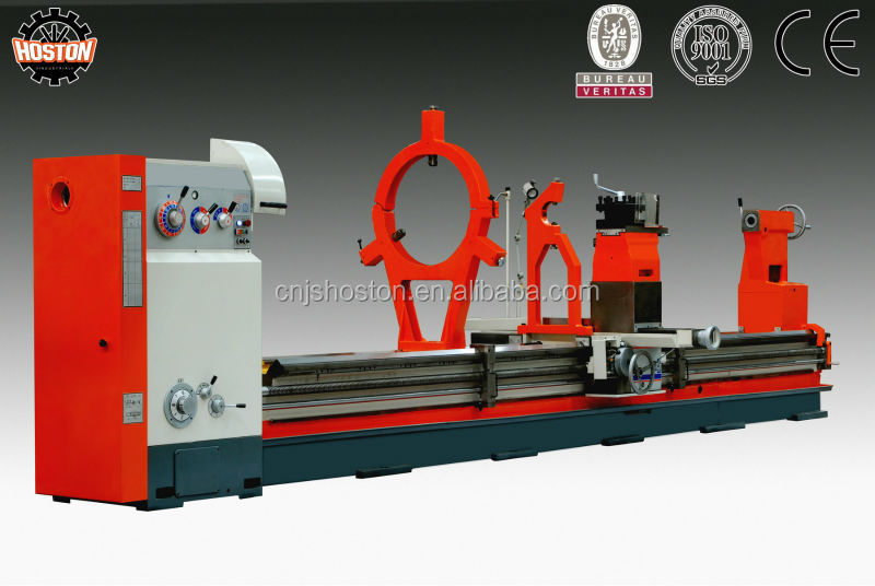 Hoston Gap Bed&Big Bore Metal Lathe Machine Manufacturer