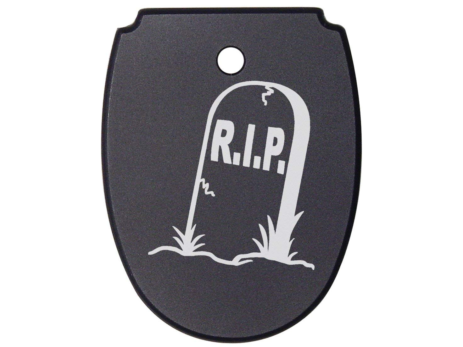 NDZ Performance For SIG SAUER P320 P250 Mag Plate Black .45 Only R.I.P. Tombstone Headstone