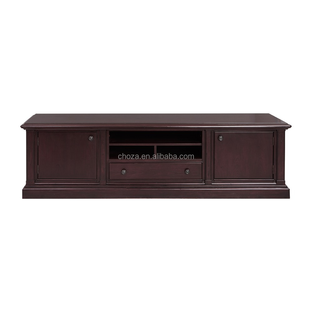 F40494A-1 Modern design tv set furniture tv wall units wooden tv cabinet design