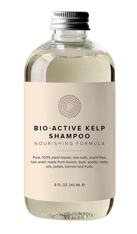Hairprint - 100% Plant-Based/All Natural Bio-Active Kelp Shampoo (8 fl oz/240 ml)
