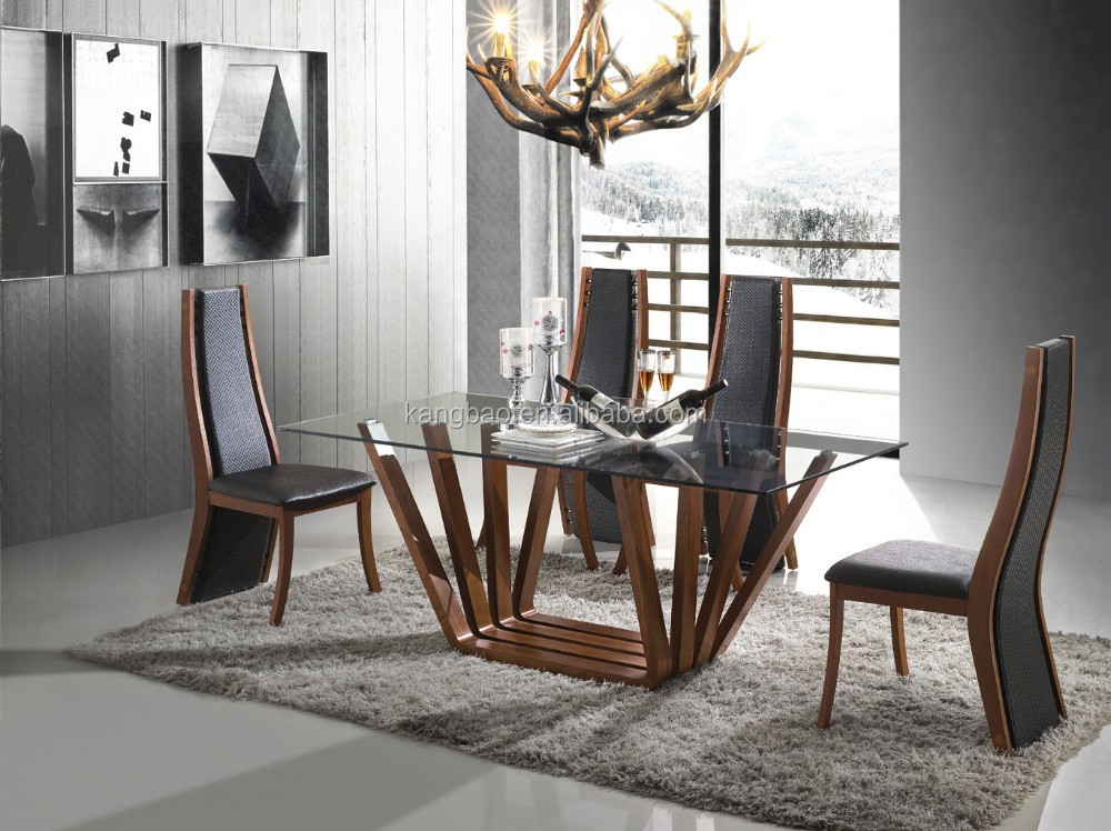 kangbao wooden dining table,glass dining tables,best selling italy