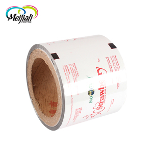 New product wholesale tissue paper box wrap laminated plastic stock packaging film roll
