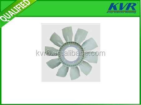 FOR VOLVO 10 White Blades Radiator Fan