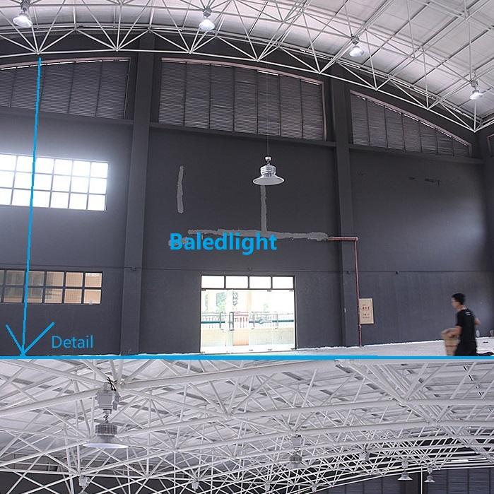 Гимнастический выставочный зал Промышленная большая лампа обслуживания Лифт 90-240 В переменного тока двойной провод люкс Дистанционное освещение подъемник