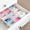Adjustable Underwear Bra Storage Drawer Organizer, Sturdy Sock Drawer Divider Organizer