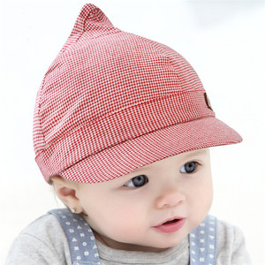 Custom cotton infant soft cute outdoor summer baby caps and hats