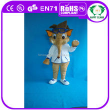 HI EN71 cute elephant Mascot Moving Actor costume
