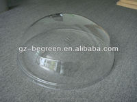 polycarbonate PC plastic Round&Pyramid motor roof skylight covers