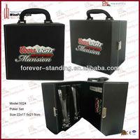 WinePackages Leather Poker Game Set,Poker Game,Poker Chip Set