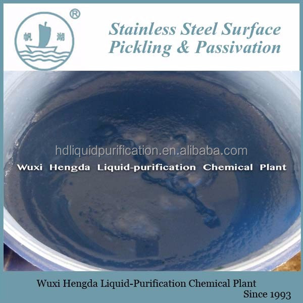 Fast Reaction Pickling Passivation Paste For Stainless Steel