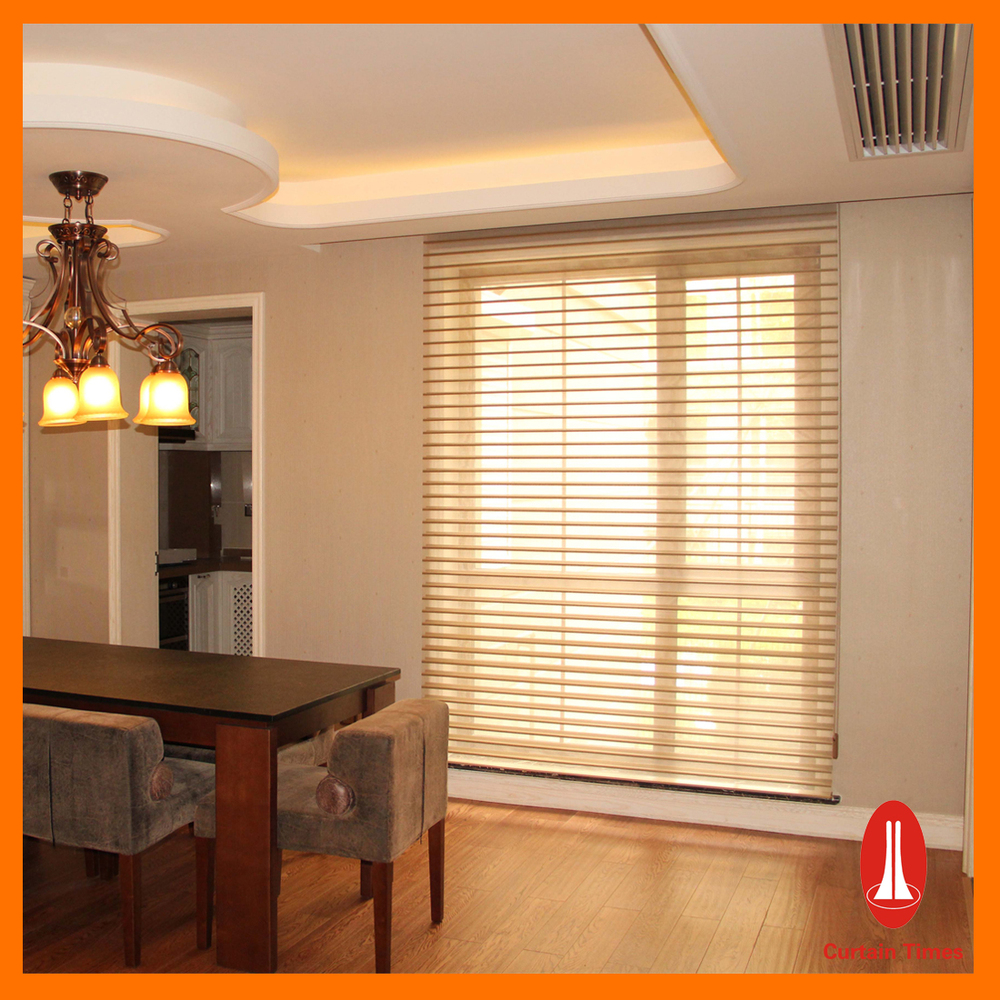 Curtain Times Fancy Motorized Shangri La Blinds Elegant
